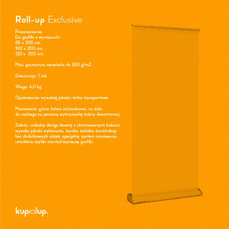 Rollup Exclusive 100x200cm