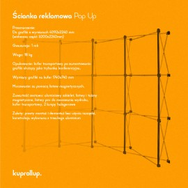 Ścianka Pop Up 3x4