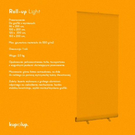 Rollup Light 85x200cm
