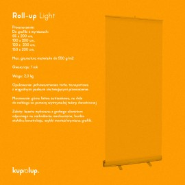 Rollup Light 100x200cm