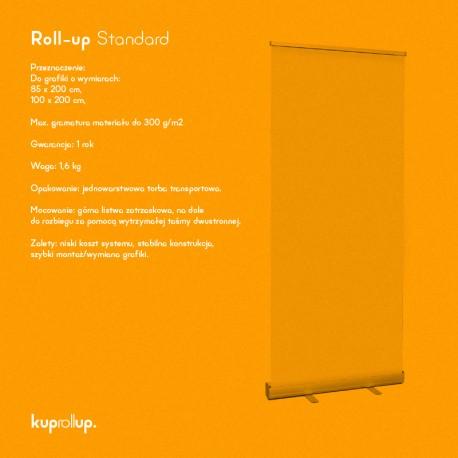 Rollup Standard 85 x 200 cm