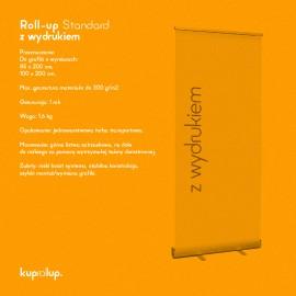 Rollup Standard 85 x 200 cm z wydrukiem