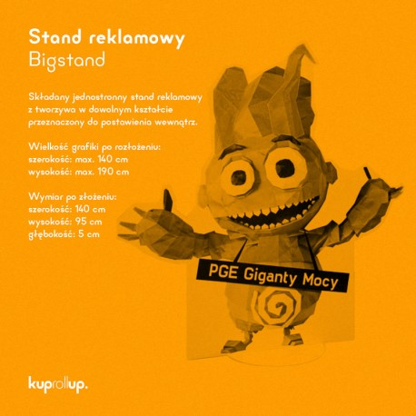Stand reklamowy Bigstand