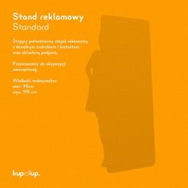 Stand reklamowy Standard 95x195cm